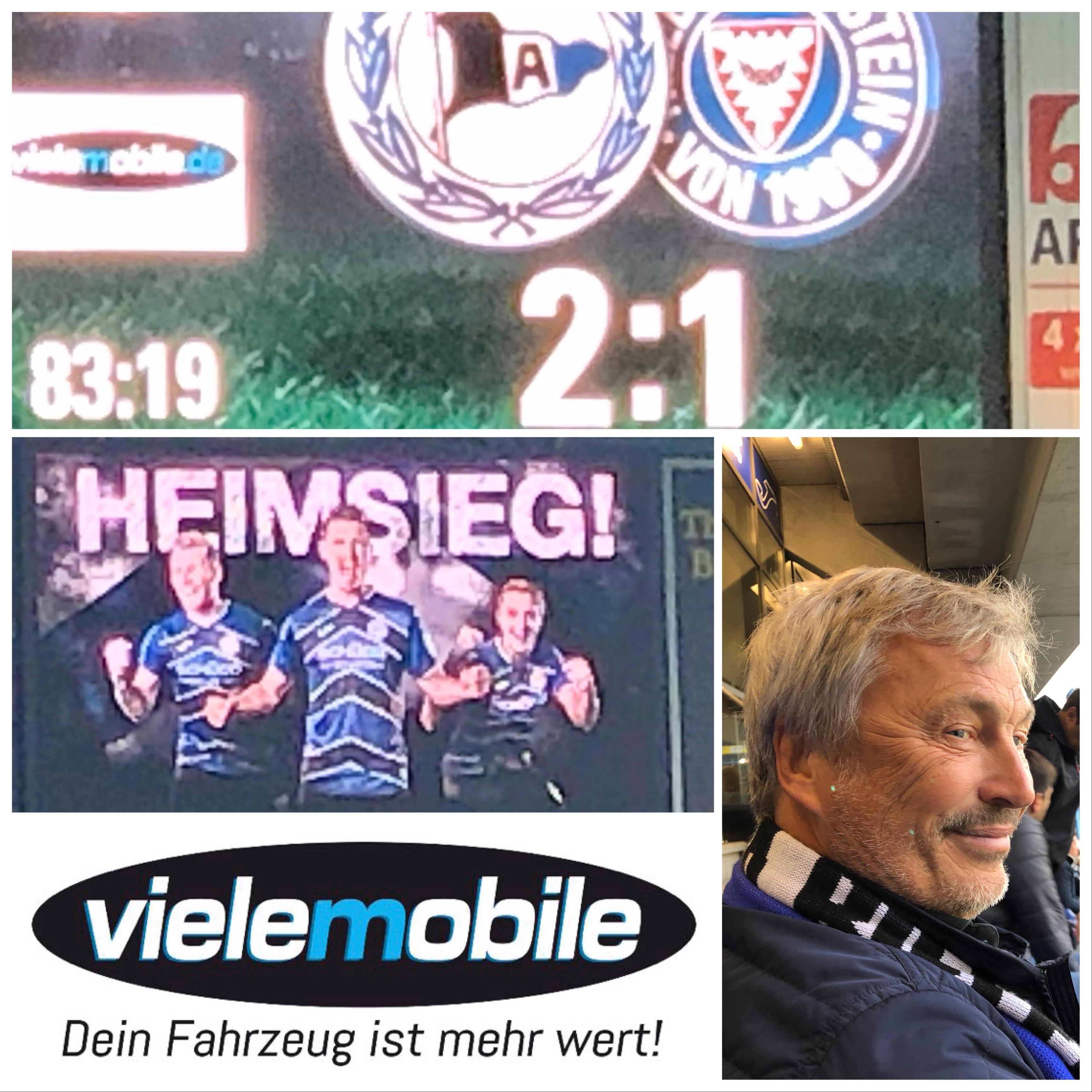 Arminia Bielefeld & vielemobile - immer ein Volltreffer