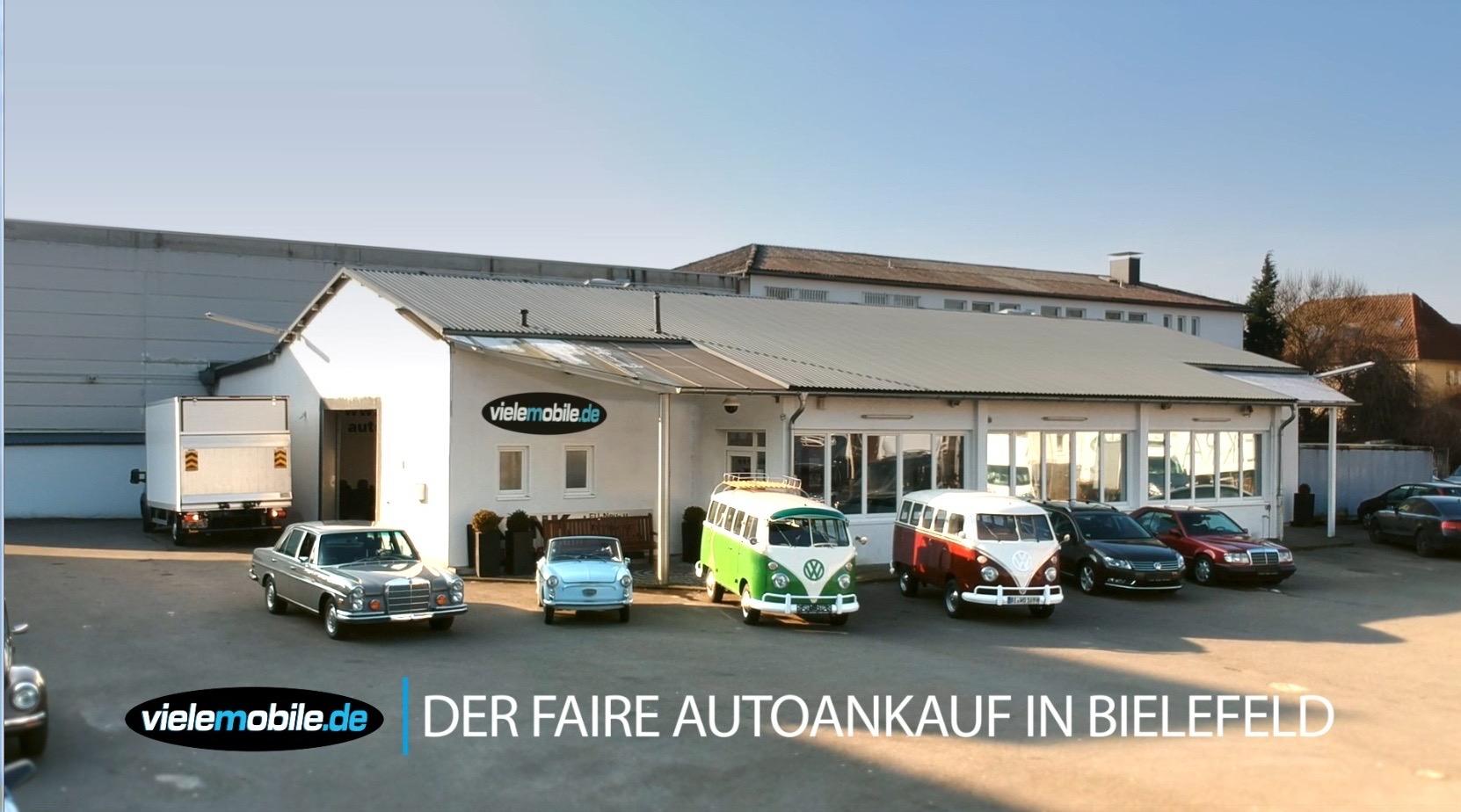 Auto verkaufen in Bielefeld? Wir zahlen beste Preise für Ihr Fahrzeug.